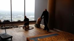 feinishing hardwood floors in Houston