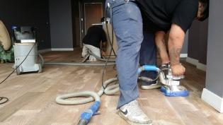 Wood Floor sanding in houston