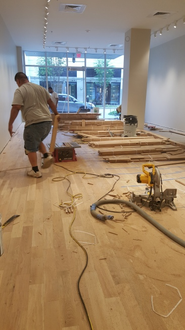Houston wood flooring installations