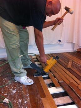 hardwood floors repaired