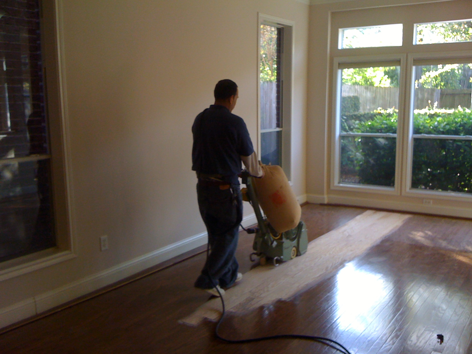 Cost of refinishing wood floors - Our Typical Wood Floor Refinishing Procedure