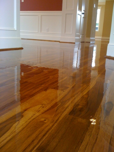 hardwood flooring refinished in Houston,1