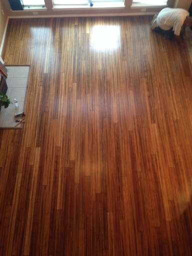 Houston wood floor refinishing.